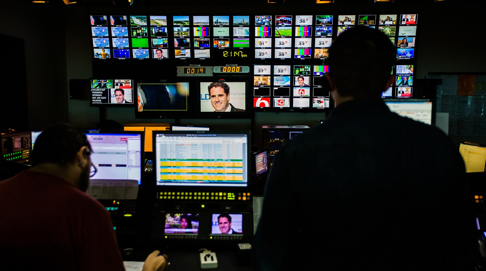 news team manages assets with smart metadata