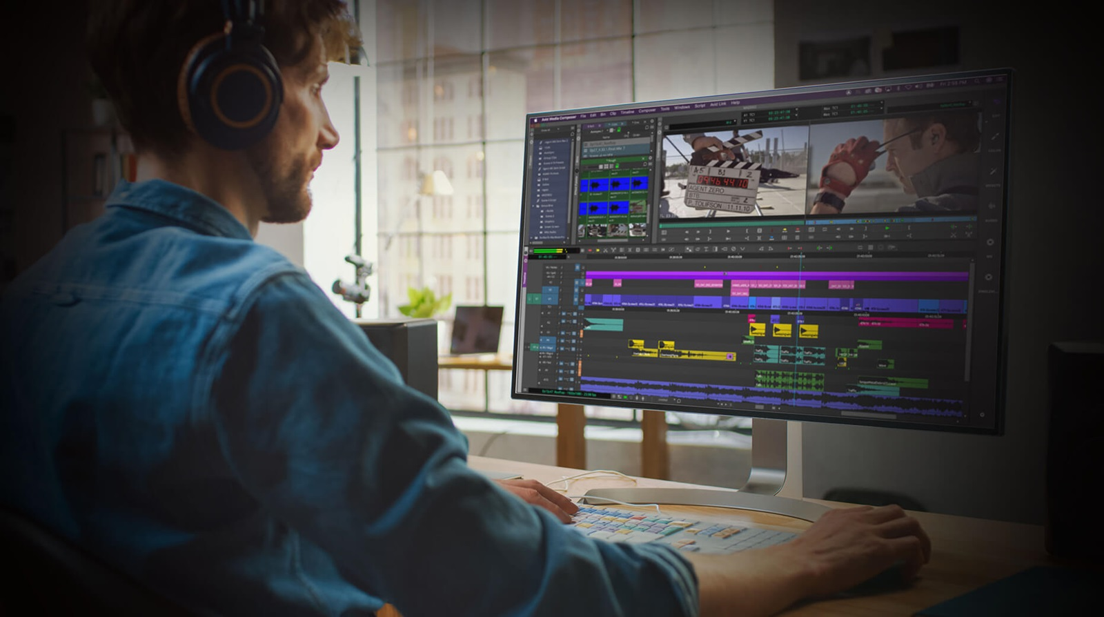 remote collaboration video post production