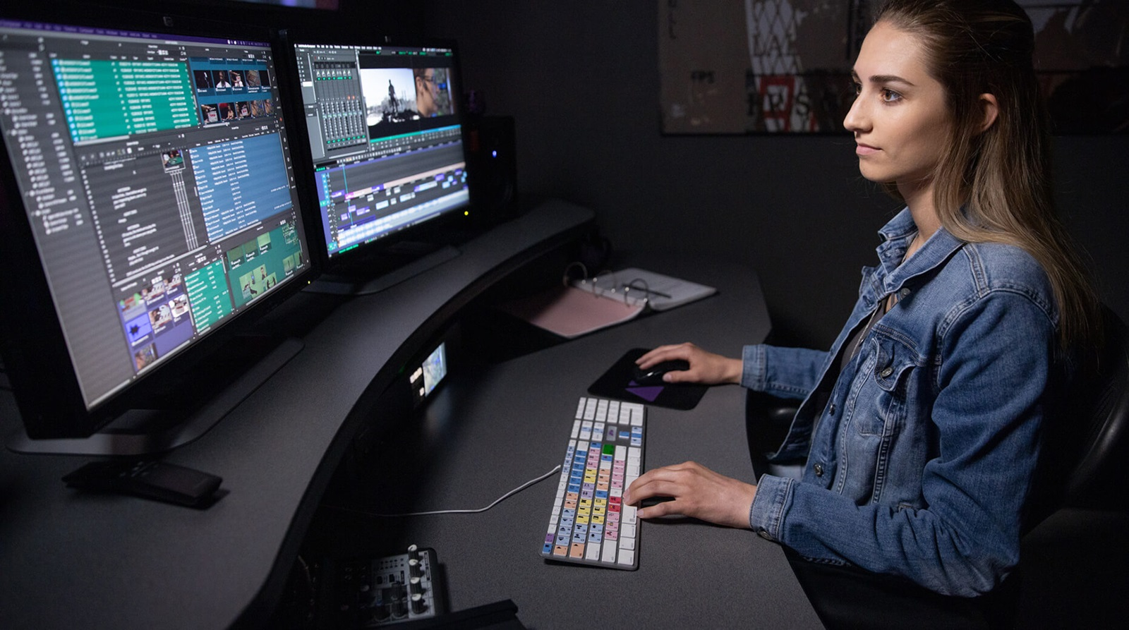 using an asset manager in video editing