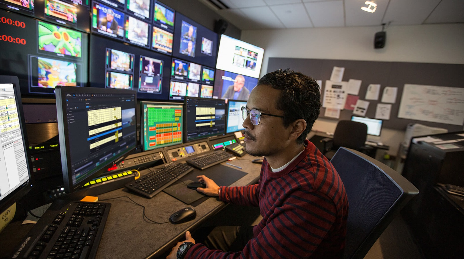 protecting a broadcast workflow with media mirroring