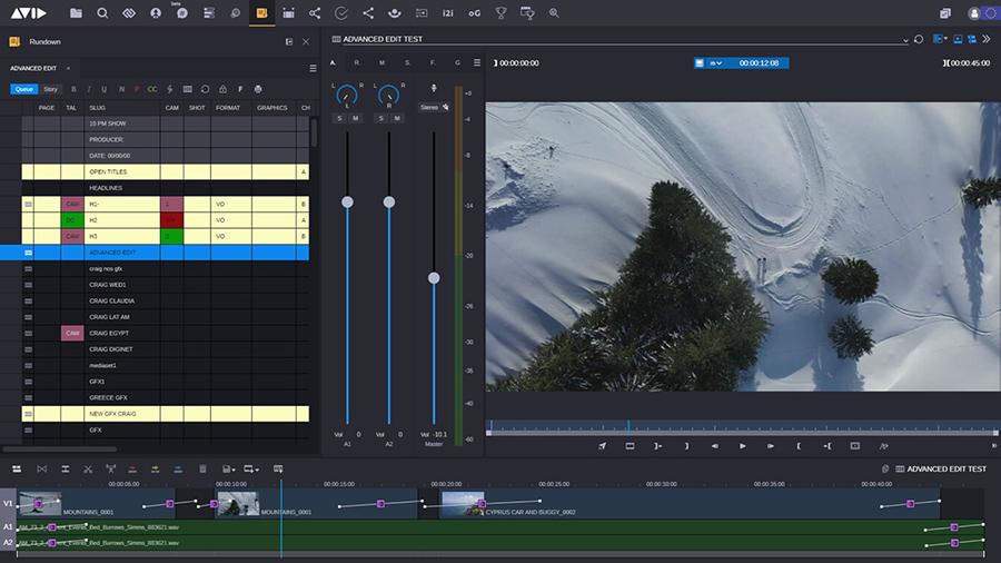 Cloud UX screenshot