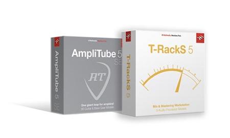 Amplitube and T RackS by IK Multimedia
