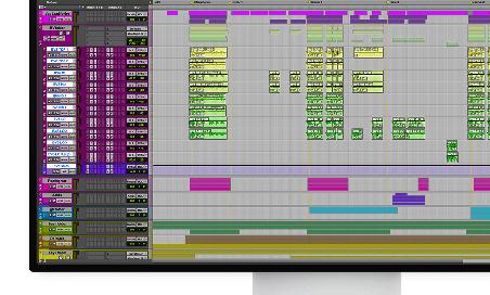 folder tracks in Pro Tools
