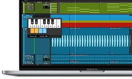 MIDI keyboard in Pro Tools