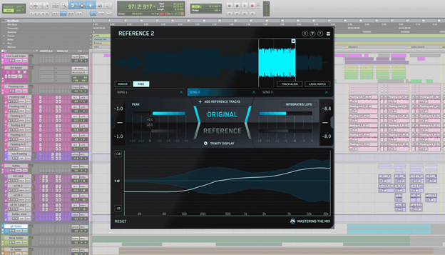 REFERENCE plugin in Pro Tools