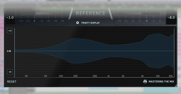 stereo width in REFERENCE plugin