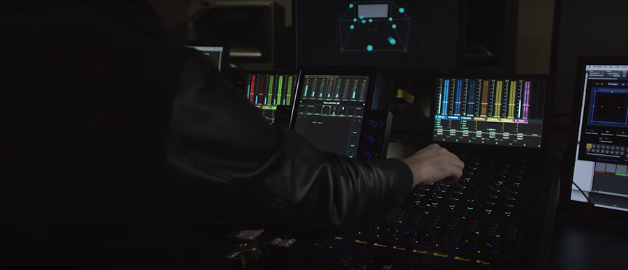 mixing for Dolby Atmos with Avid S6