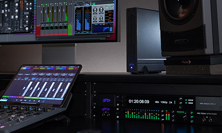 HDX with Hybrid Engine used with Pro Tools and mixing console