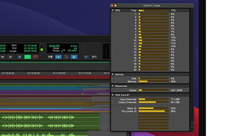 Pro Tools UI showing increased tracks