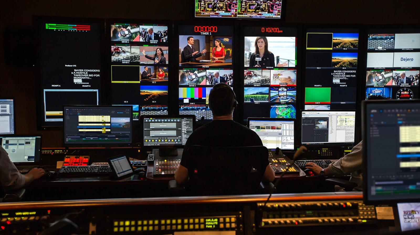 news control room
