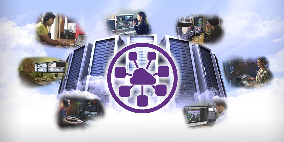 Avid NEXIS Cloudspace video storage cloud connecting content creators