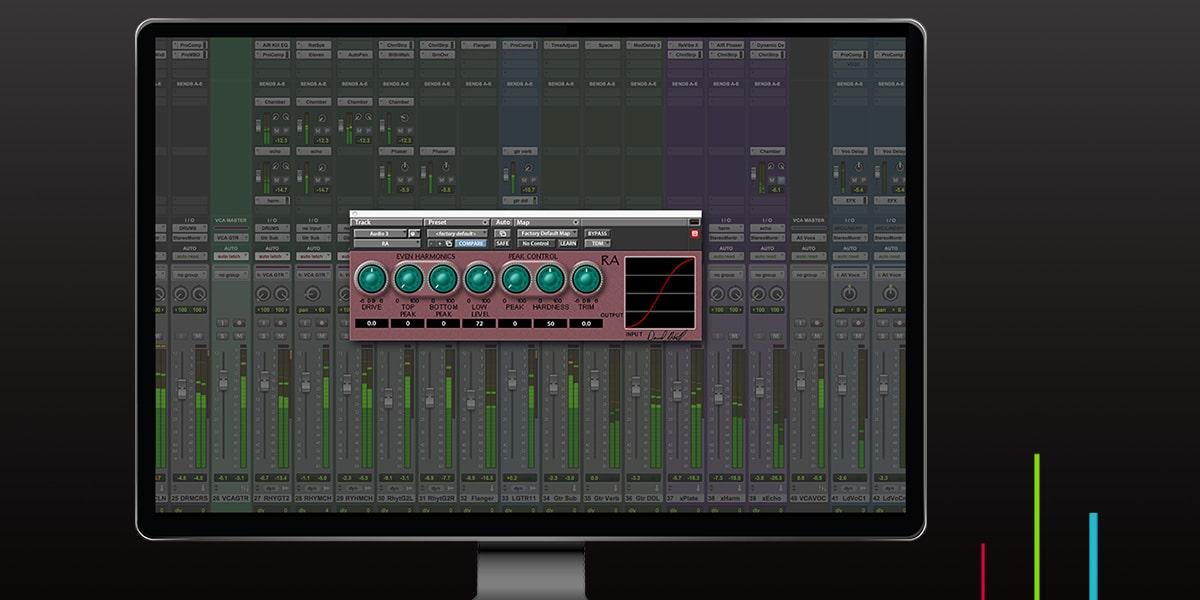 Computer Monitor displaying CraneSong RA Interface