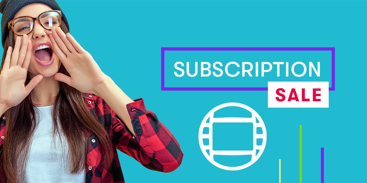 Media Composer Subscription Sale