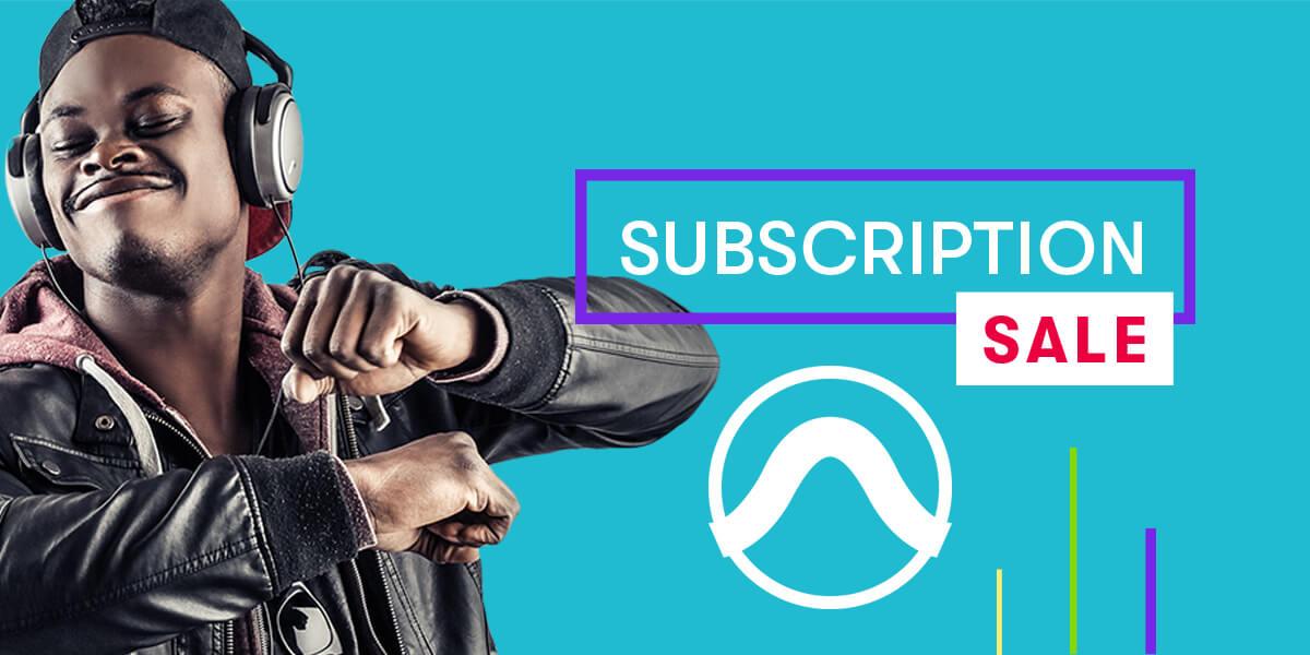 Pro Tools Subscription Sale