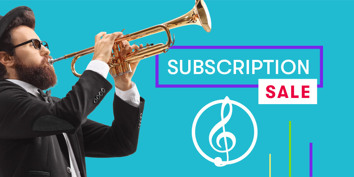 Sibelius Subscription Sale