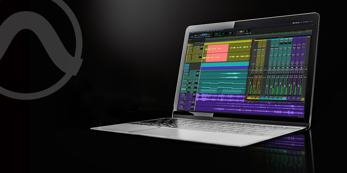 Pro Tools on laptop  Socialjpg